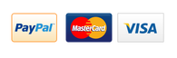 We accept all kind of Payments ,Paypal MasterCard Visa